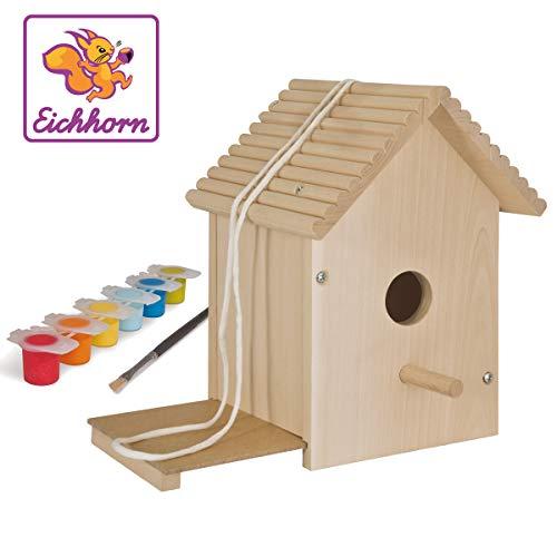 Eichhorn 100004581 Outdoor Vogelhaus Spielzeug, Bunt