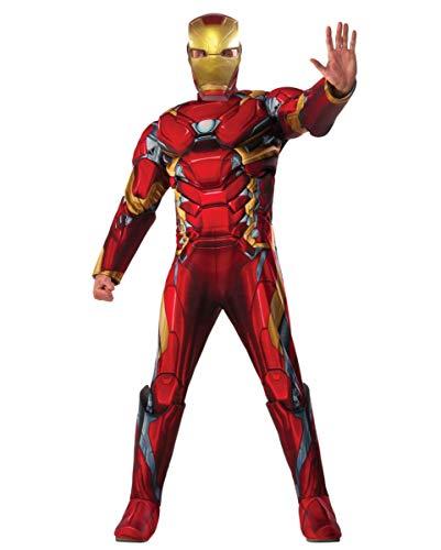 Horror-Shop Iron Man Kostüm 3D Print als original The First Avenger Civil War Jumpsuit Standard Horror-jumpsuit