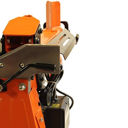 Forest Master FM10 5t Electric Duocut Log Splitter Complete Set – Orange/black