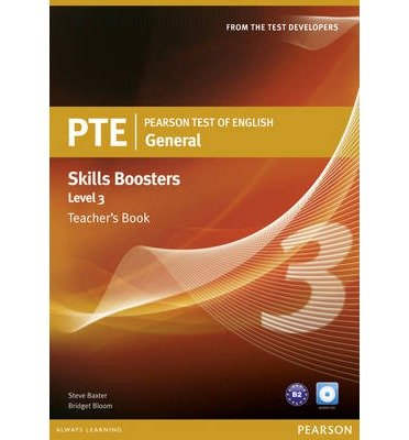 Pearson Test of English General Skills Booster 3 Teacher's Book and CD Pack (Mixed media product) - Common