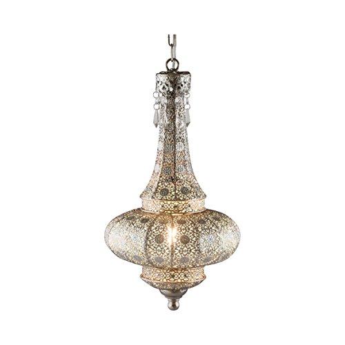 Pajoma–lámpara de techo, estilo oriental, metal, diámetro 24cm 13174
