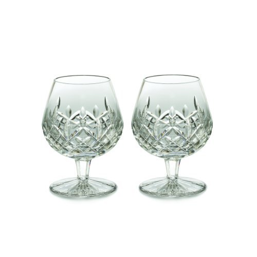 Waterford Lismore Brandy Balloon Boxed Pair, 12-Ounce by Waterford Crystal Crystal Brandy
