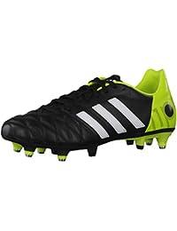 adidas, Scarpe da calcio uomo running white-vivid yellow