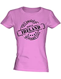 Made In Ireland - Ladies Fitted T-Shirt T Shirt Tee Top