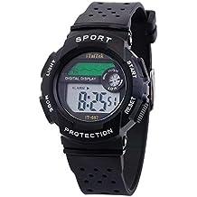 HuaMore Reloj electrónico de la Moda del Reloj Impermeable de los Deportes de la función Multifuncional