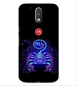 ifasho Designer Phone Back Case Cover Motorola Moto G4 Plus ( Wolf Man Full Moon )