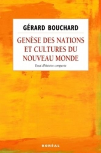Genèse, nations, cultures, Nouveau Monde