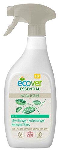 Ecover Essential Glas-Reiniger Minze, Sprühflasche, 500 ml - Reiniger Minze
