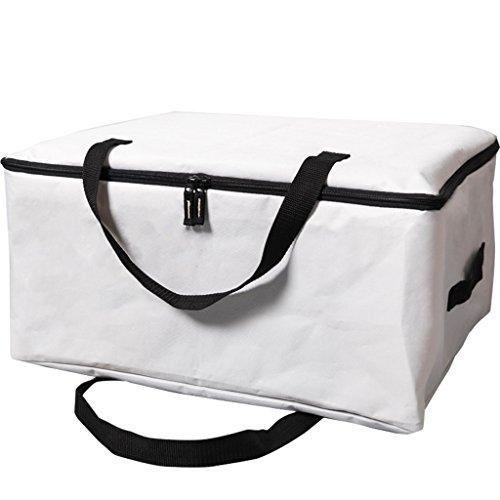 DWW-Panier de rangement Vêtements de stockage boîte grand sac de rangement finition tissu sac de rangement couette trois pièces
