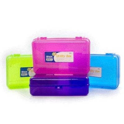 BAZIC Bright Farbe Mehrzweck Bleistift Case Utility