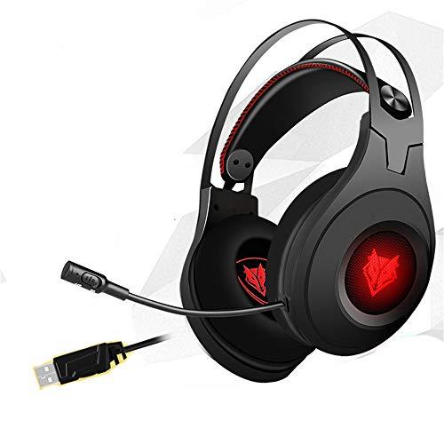 Casque stéréo PC Pro USB Gaming Casque avec Micro Haute sensibilité Vibration (Version électrique) 3