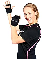 Powergloves® Weighted Workout Gloves by Powerhoop - Now with Adjustable Weight! by Powerhoop