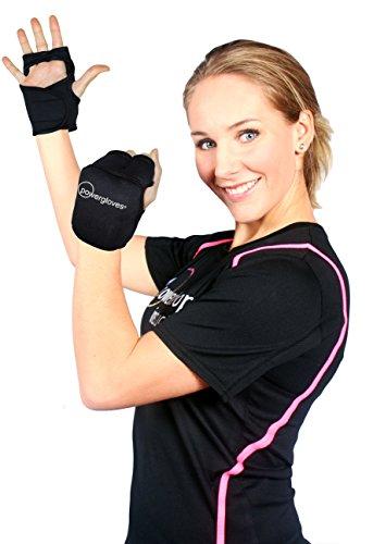 Powergloves Powerhoop Workout-Handschuhe mit Gewichten (verstellbar)