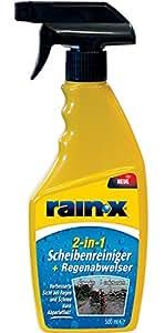 rainx 26044 nettoyant pour pare brise et vitres d perlant anti pluie. Black Bedroom Furniture Sets. Home Design Ideas