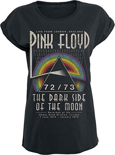 Pink Floyd Dark Side - Circle T-Shirt schwarz S (Frauen Band-t-shirts Für)