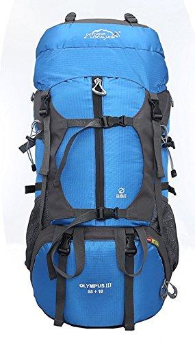 Aur-Green Grande capacité imperméable à l'eau Voyage alpinisme sac à dos sport sac à dos