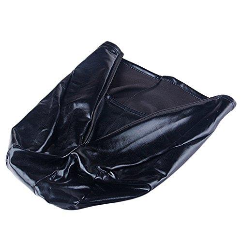 YouY® Hohe Qualität Spandex mit Haube aus Latex Maske Mund öffnet Kostüm (Halloween Kostüm Mask Majora's)