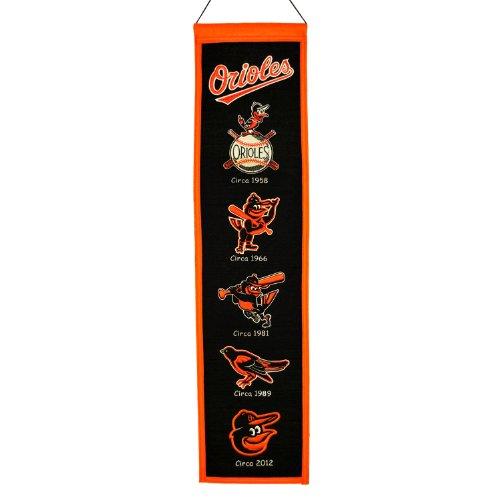 Baltimore Orioles-magnet (MLB Baltimore Orioles Heritage Banner)