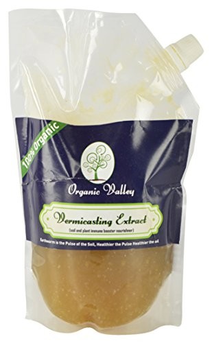 ORGANIC VALLEY VERMICASTING EXTRACT- Organic liquid Pestrepellent for Flowering plants / Vegetable plants / Fruit plants 500 ML  available at amazon for Rs.249