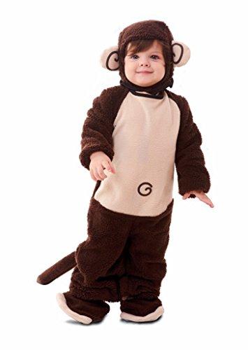 EUROCARNAVALES Costume Scimmia - Baby, Da 1 a 2 anni