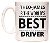 THEO-JAMES Is The World's BEST Driver Tasse de WeDoMugs