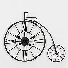 Mings Hermosa y Practica Reloj de Pared de Hierro Personalidad Creativa  Reloj de Bicicleta Hueca nostálgico 38502c0b3e7