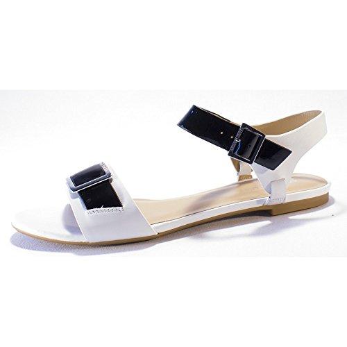 ARMANI JEANS sandali bassi in pelle P/E 2015 (38)