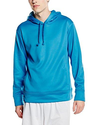 Xx Bonded Fleece (Stedman Apparel Herren 's Active Bonded Fleece/ST5800Lang Sleeve Hoody Gr. XX-Large, Arctic Blue)