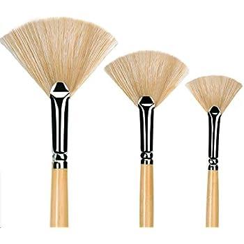 Derwent Techniques Brushes Set of 6 Various Shapes
