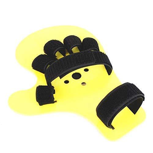 EUYOUZI Finger Aligner, Finger Training Board Hand Splint Fingerboard, Universal Left and Right Hand, Anti-Collapse Finger Separator, for Stroke, Hemiplegia(1 pcs) -