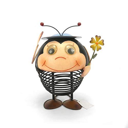 SMAQZ Gartenschmiedeeisen-Bienenverzierungen - Europäische Und Amerikanische Landhausdekoration des Gartens