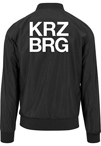 Kreuzberg Bomberjacke Black Certified Freak-M