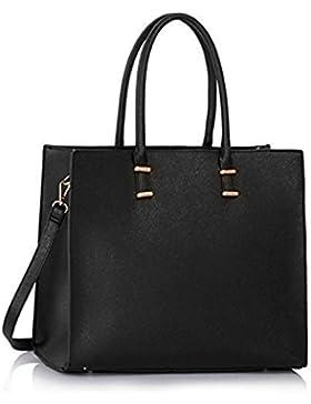 Damen Handtasche Schultertasche Tasche Large Umhängetasche Entwerfer Shopper Henkeltasche, Neu