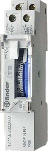 Preisvergleich Produktbild Finder Zeitschaltuhr, 1 Stück, 12.11.8.230.0000