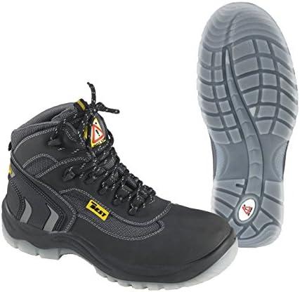 Seba 699 CE Zapato alta, Negro S3, talla 37