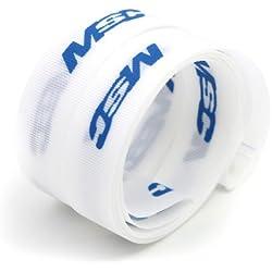 """MSC Bikes MSC Ultralight 29"""" X 19 mm. Par - Fondo de llanta de ciclismo, color blanco/azul"""