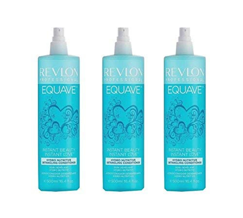 3x500ml Revlon Equave Hydro Detangling Conditioner