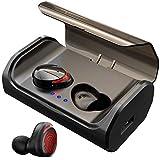 HolyHigh Neueste Bluetooth Kopfhörer Kabellos In Ear Sport Joggen Ohrhörer Bluetooth 5.0 mit 3000mAh Batterie 120 Stunden Spielzeit IPX6 Wasserdicht Mikrofon für iOS Android Samsung Huawei HTC