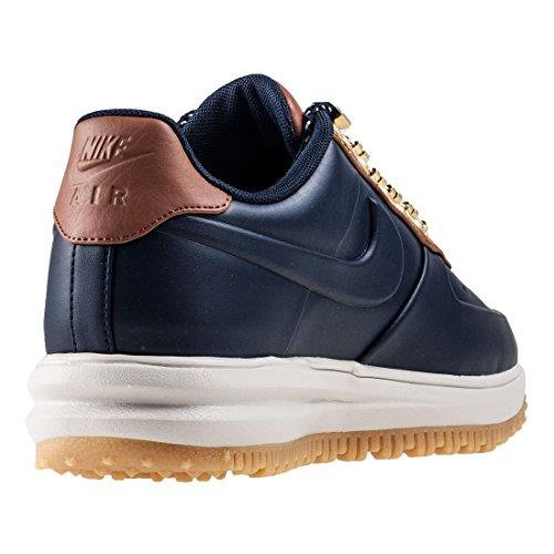 Schuhe Herren Lunar Force One LF1 Duckboot Low obsidian/obsidian- saddle brown