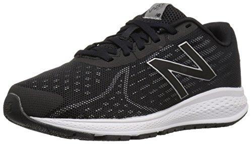 New Balance Unisex Rush V2 Black and Silver Sneakers - 3.5 UK/India (36 EU) (4 US)