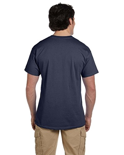 Gildan T-Shirt Cotton Ultra 6 Unzen Blau - Marineblau (Heather Navy)