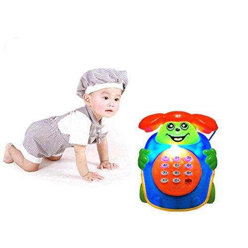 Spielzeugen, mamum Baby Musik Cartoon Handy Educational Entwicklung Kinder Spielzeug Geschenk neue Einheitsgröße B (4-yr Alten Mädchen Spiele)