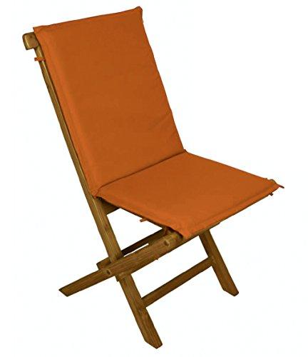 Galileo Casa 2404379 Kissen für Klappstuhl, orange