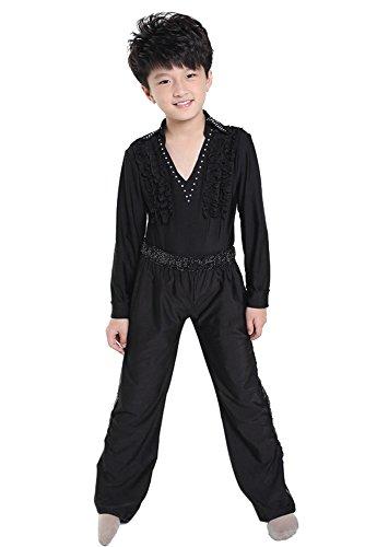 KINDOYO Jungen Klassiker Latein Tanz Kostüme Kinder Performance -