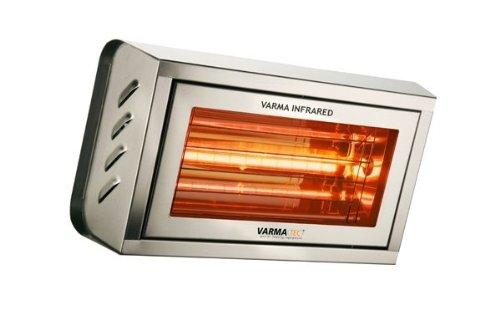 Infrarot Heizstrahler - Wärmestrahler - Varma 400 S/S Edelstahl