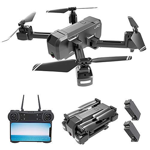 Goolsky KF607 WiFi FPV Drone con Cámara 4K Flujo óptico Plegable Alt