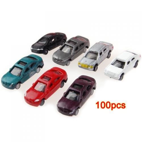 generic-100-piezas-pintadas-coches-modelo-de-construccion-de-trenes-layout-escala-nz-1-a-200-c200-4