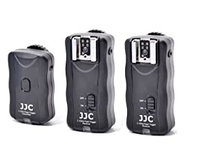 JJC 2.4G Wireless Remote Control With 2 Flash Trigger Kit For Sony Nikon Canon Olympus Pentax
