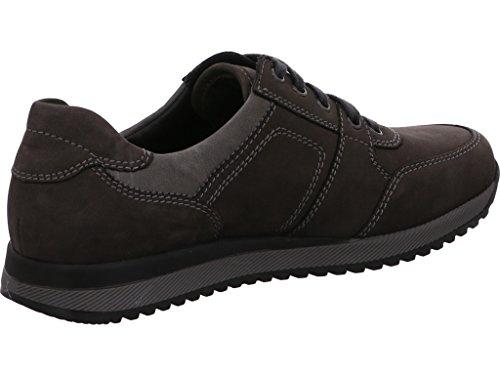 Waldläufer 414011,303,497, Chaussures Hommes Carbone Asphalte Schw.