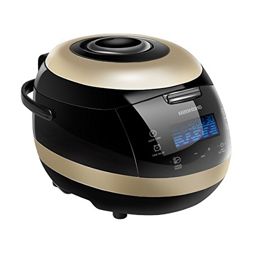 redmond-151e-pressure-multi-cooker-5-litre-950-w-black-with-gold-metallic-finish